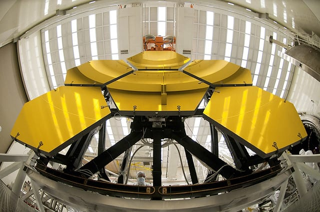 ames Webb Space Telescope cryogenic testing