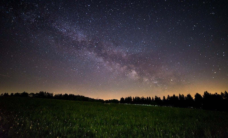 how to take photos of the night sky