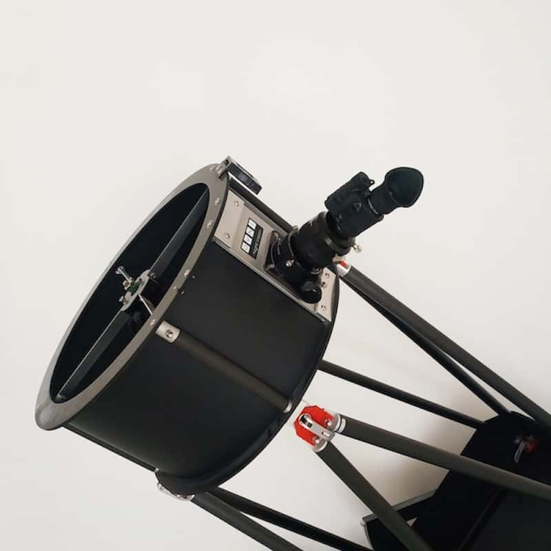 The OVNI-M monocular attached to a telescope
